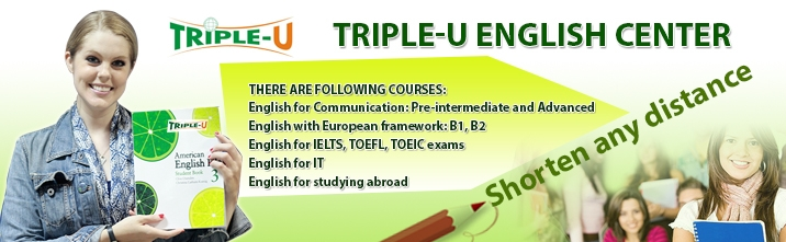TRIPLE-U English Center
