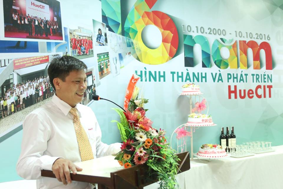 HueCIT celebrated the 16th anniversary of foundation and development